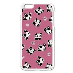 Panda Pattern Apple Iphone 6 Plus/6s Plus Enamel White Case