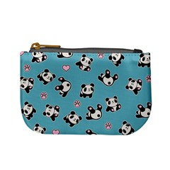 Panda Pattern Mini Coin Purses by Valentinaart