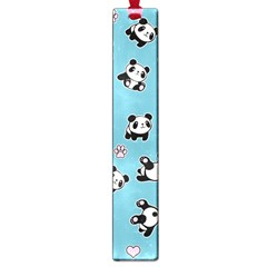 Panda Pattern Large Book Marks by Valentinaart