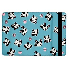 Panda Pattern Ipad Air Flip by Valentinaart