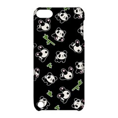 Panda Pattern Apple Ipod Touch 5 Hardshell Case With Stand