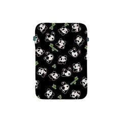 Panda Pattern Apple Ipad Mini Protective Soft Cases by Valentinaart