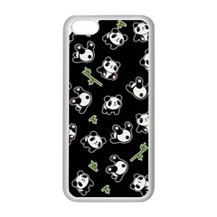 Panda Pattern Apple Iphone 5c Seamless Case (white)