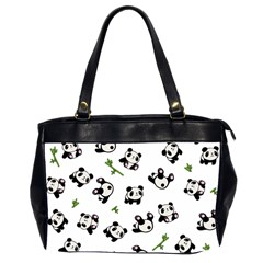 Panda Pattern Office Handbags (2 Sides)