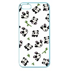 Panda Pattern Apple Seamless Iphone 5 Case (color)