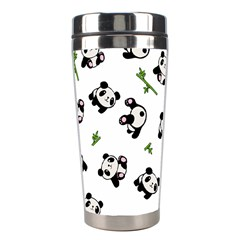 Panda Pattern Stainless Steel Travel Tumblers