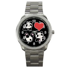 Panda Sport Metal Watch