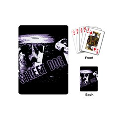 Street Dogs Playing Cards (mini)  by Valentinaart