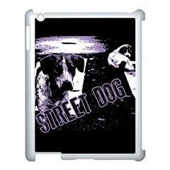 Street Dogs Apple Ipad 3/4 Case (white) by Valentinaart