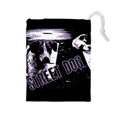 Street Dogs Drawstring Pouches (large)