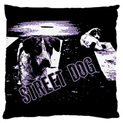 Street Dogs Standard Flano Cushion Case (one Side) by Valentinaart