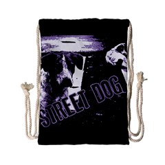 Street Dogs Drawstring Bag (small) by Valentinaart