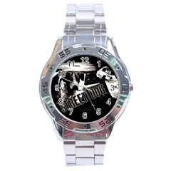 Street Dogs Stainless Steel Analogue Watch