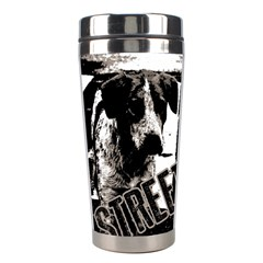 Street Dogs Stainless Steel Travel Tumblers by Valentinaart