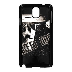 Street Dogs Samsung Galaxy Note 3 Neo Hardshell Case (black) by Valentinaart