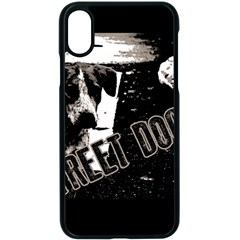 Street Dogs Apple Iphone X Seamless Case (black) by Valentinaart