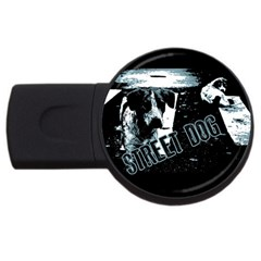 Street Dogs Usb Flash Drive Round (4 Gb) by Valentinaart