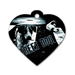 Street Dogs Dog Tag Heart (one Side)