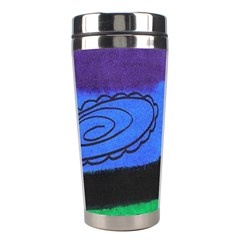 Purple Whale Stainless Steel Travel Tumblers by snowwhitegirl