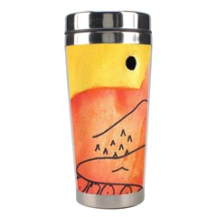 Mountains Stainless Steel Travel Tumblers by snowwhitegirl