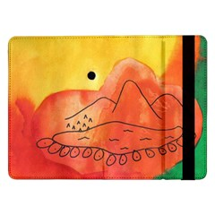 Mountains Samsung Galaxy Tab Pro 12 2  Flip Case