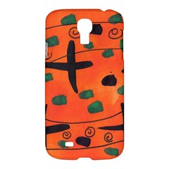 Egg Amongst Crosses Samsung Galaxy S4 I9500/i9505 Hardshell Case