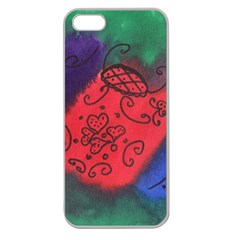 Houses Apple Seamless Iphone 5 Case (clear) by snowwhitegirl