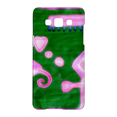 Hearts For The Pink Cross Samsung Galaxy A5 Hardshell Case  by snowwhitegirl