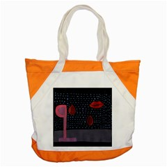 Lips Accent Tote Bag