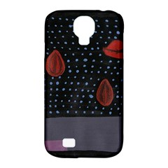 Lips Samsung Galaxy S4 Classic Hardshell Case (pc+silicone)