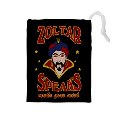 Zoltar Speaks Drawstring Pouches (large)
