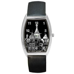 Moscow Barrel Style Metal Watch