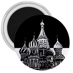 Moscow 3  Magnets by Valentinaart