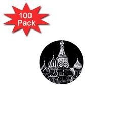 Moscow 1  Mini Buttons (100 Pack)