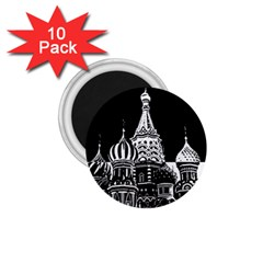 Moscow 1 75  Magnets (10 Pack)