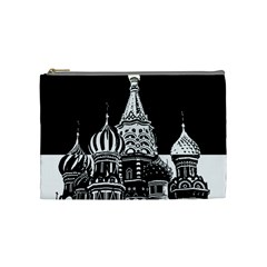 Moscow Cosmetic Bag (medium)  by Valentinaart