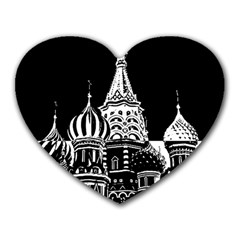 Moscow Heart Mousepads by Valentinaart