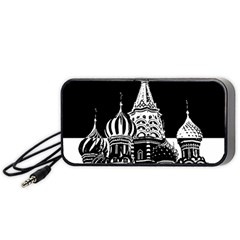 Moscow Portable Speaker by Valentinaart