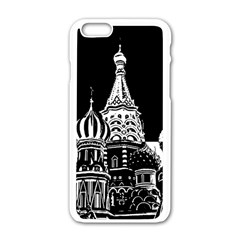 Moscow Apple Iphone 6/6s White Enamel Case by Valentinaart