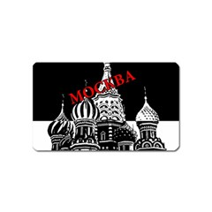 Moscow Magnet (name Card) by Valentinaart
