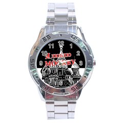 Moscow Stainless Steel Analogue Watch
