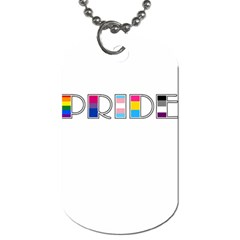 Pride Dog Tag (two Sides)