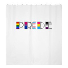 Pride Shower Curtain 66  X 72  (large)  by Valentinaart