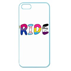 Pride Apple Seamless Iphone 5 Case (color) by Valentinaart