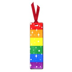 Sparkly Rainbow Flag Small Book Marks by Valentinaart