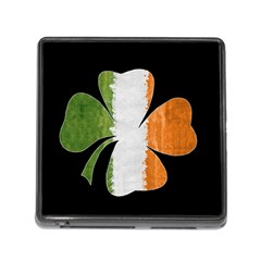 Irish Clover Memory Card Reader (square) by Valentinaart