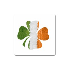 Irish Clover Square Magnet by Valentinaart