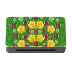 Roses Dancing On  Tulip Fields Forever Memory Card Reader With Cf by pepitasart