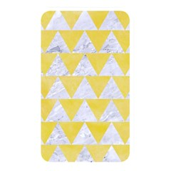 Triangle2 White Marble & Yellow Watercolor Memory Card Reader by trendistuff