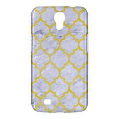 Tile1 White Marble & Yellow Watercolor (r) Samsung Galaxy Mega 6 3  I9200 Hardshell Case
